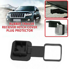 """1Pcs 2"""" Rubber Trailer Hitch Tube Cover Plug Receiver for Toyota Jeep Mercedes"""