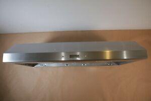 "Broan 7"" BCDJ136SS 36"" Deluxe Under Cabinet Range Hood Stainless Steel 400CFM"