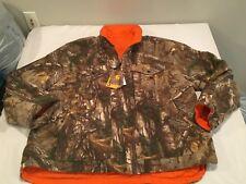 NWT $109.99 Carhartt Mens Woodsville Jacket Orange/Realtree Size XL - Regular