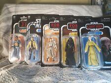 Star Wars Vintage Collection TVC lot Of 5 Figures Moc Luke Rey Kylo Lando Snoke