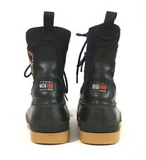 Rare VTG Tommy Hilfiger Expedition Series Outdoor Snow Lined Boots Sz 11 *READ*