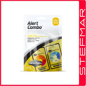 Seachem Test Kit Alerts Combo Pack Test pH & Ammonia