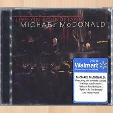 MICHAEL McDONALD Live on Soundstage CD+DVD Set I KEEP FORGETTIN You Belong to Me