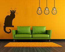Cat Chat Noir Vinyl Wall Decal Sticker Removable Graphic Classical