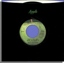 Billy Preston - That's The Way God Planned It + What About You - Mono Apple 45!