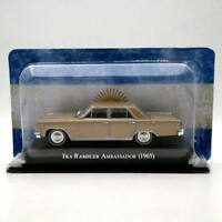 IXO Altaya 1/43 IKA Rambler Ambassador 1965 Diecast Models Toys Car