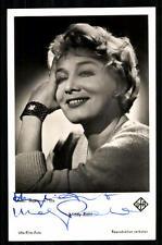 Mady Rahl UFA Verlag Autogrammkarte Original Signiert ## BC 12460