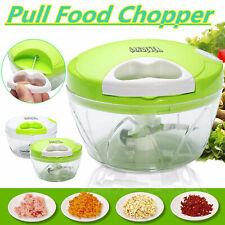 4ANDEVER Food Speedy Chopper Fruit Vegetable Onion Garlic Cutter Spiral Slicer