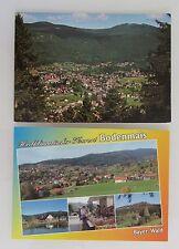 2 x Pavimento mais Baviera bavarese foresta CARTOLINE CARTOLINE andato colorate