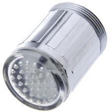 RGB Water Glow Shower Temperature Sensor LED Light Faucet Tap A6 M24*1mm