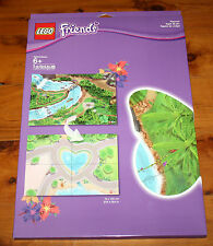 """2014 LEGO FRIENDS CITY / JUNGLE PLAYMAT 851325 Double Sided 39.4"""" x 27.6"""" NEW"""