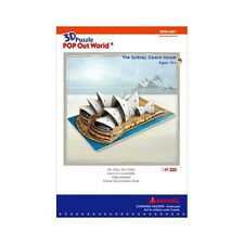 The Sydney Opera House 1:725 Scale Pop Out World 3D Puzzle DIY Model Hobby Kit