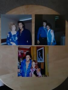 Elvis Presley Candid Photo Lot