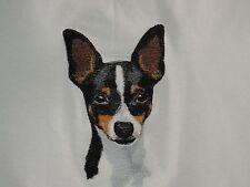 Embroidered Fleece Jacket - Toy Fox Terrier Bt4539 Sizes S - Xxl