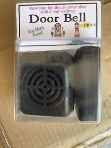 SALE!  Dollhouse foghorn DOORBELL! Limited Quantity left! Lighthouse!