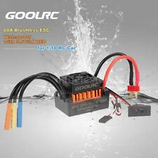 GoolRC Waterproof 60A ESC Speed Controller with 5.8V/3A BEC for 1/10 RC Car A5C2