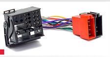 Carav 12-123 autoradio cable del adaptador ISO para Ford mondeo C-Max tránsito Kuga