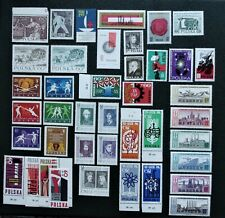 POLAND- 1963-1965 Collection of MNH complete sets - MNH