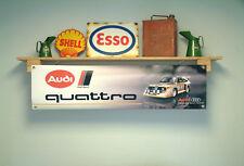 Audi UR Quattro Banner Garage Rally Motorsport