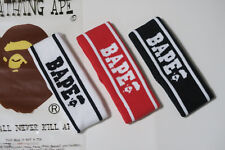 Men Women A Bathing Ape Bape Black White&Red Headband Bape Head Band