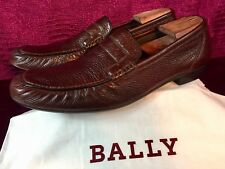 Mens Brown Bally Leather Loafers Shoes Sz 11.5 UK / 12.5 US / 45,5 EU