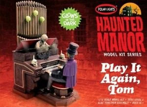 Polar Lights 1/12 Haunted Manor Play It Again Tom Playing Organ Glow-in-t PLL984