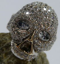 Reinheit VVS Markenlose Echte Diamanten-Ringe mit Brilliantschliff