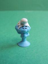 Schtroumpf coquet Micro Popz figurine Micropopz stikeez Super U 2017 Smurf