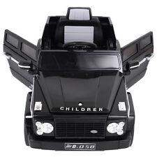 12V MP3 Kids Car RC Remote Control Battery Power Wheels W/ LED Lights jeep