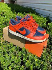 Vintage Nike Dunk Low Syracuse Orange 2004 Sz 9.5 OG 309431 881 Og Box