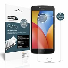 2x Lenovo Moto E4 Plus Screen Protector matte Flexible Glass 9H dipos
