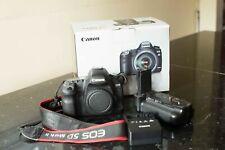 Canon EOS 5D Mark II 21.1 MP Digital SLR Camera - Black With Battery Grip