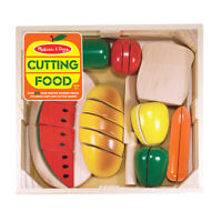 Melissa & Doug Cutting Wooden Play Food, 27 Pieces