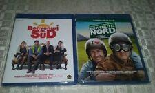 2 Blu Ray brd nuovi film BENVENUTI AL NORD+ BENVENUTI AL SUD+libro vers.italiana