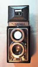appareil photo reflex bi-objectif kinaflex avec étui 6X6