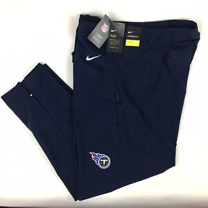 Nike On-Field Apparel Tennessee Titans Track Joggers Men's Sz 3XL AO4285-419