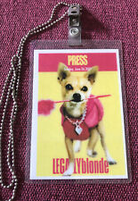 Legally Blonde Movie Premiere Red Carpet Press Badge