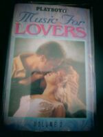 Playboy Music For Lovers Volume 2 Audio Cassette Tape Romantic Sexy Love Songs