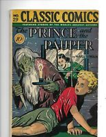 "Classics Illustrated 29/HRN 29 G+ (2.5) 1st ed! ""Prince & Pauper"" 7/46"