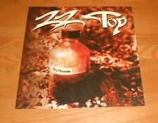 Zz Top Rhythmeen Poster 2-Sided Flat Square Promo 12x12