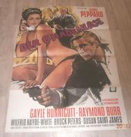 A1 Filmplakat  DER GNADENLOSE , GEORGE PEPPARD,GAYLE HUNNICUTT