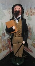BYERS CHOICE Exclusive A Christmas Carol Charles Dickens with Hang Tag 2012  *