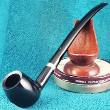 UNSMOKED NEW 2001 Dunhill DRESS LONG CHURCHWARDEN Estate Pipe AD STERLING SILVER