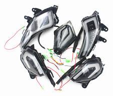 Set Rear Tail Lamp Brake Light LED Turn Signal Indicators For Tmax 530 2013-2016