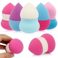 4Pcs Pro Makeup Foundation Sponge Blender Puff Flawless Powder Smooth Beauty