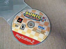 Sony PlayStation 2 PS2 Disc Only Resurfaced Sonic Mega Collection Plus Sega GH