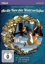 THE ANIMALS OF FARTHING WOOD : SEASON 2 remastered  -  DVD - PAL Region 2