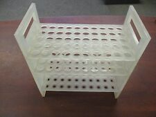 Bel Air Used No-wire Plastic 50-position Test Tube Rack/Holder