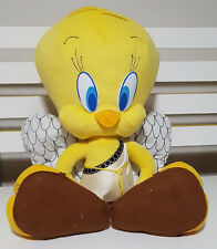 WB TWEETY PIE BIRD CHARACTER TOY PLUSH TOY! SOFT TOY ABOUT 33CM SEATED KIDS TOY!