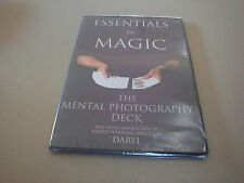 Essentials In Magic Mental Photography Deck Dvd By Daryl Routines Tricks Cards